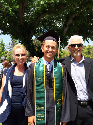 Alex Graduates Cal Poly SLO 06/15/2014 - Business/Marketing